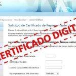 El certificado digital para el autónomo.